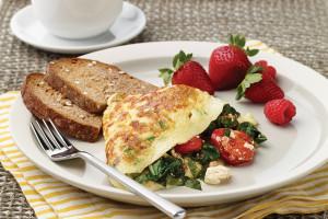 Farmers' Market Omelets
