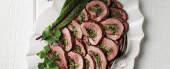 Flank Steak With Herb Stuffing