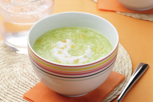 Ginger Honeydew Soup