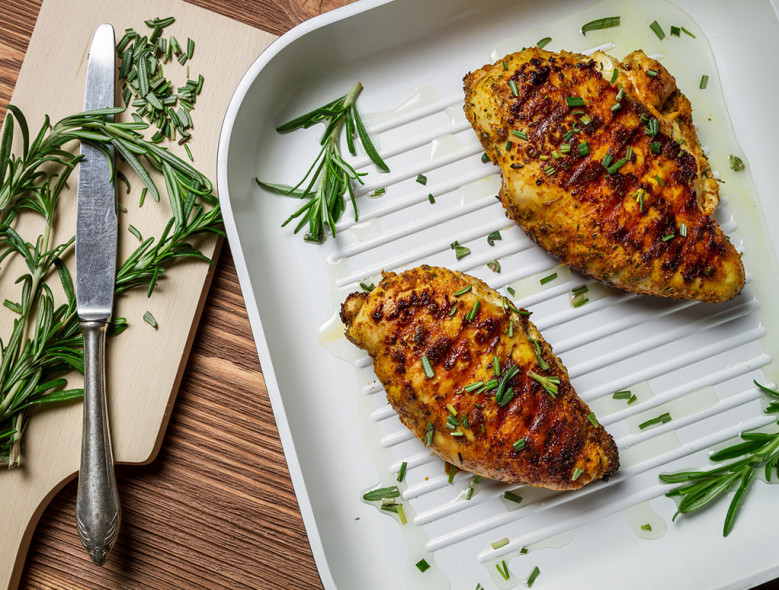 Barbecued Rosemary Chicken