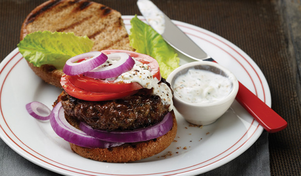 Grilled Athenian Burger