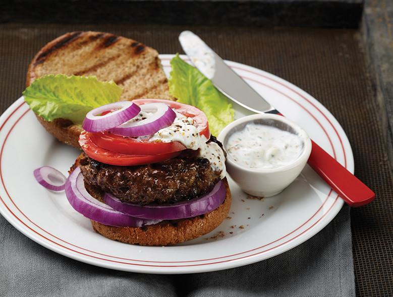 Grilled Athenian Burger