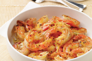 Lemon-scented Shrimp (Gamberi Al Limone)