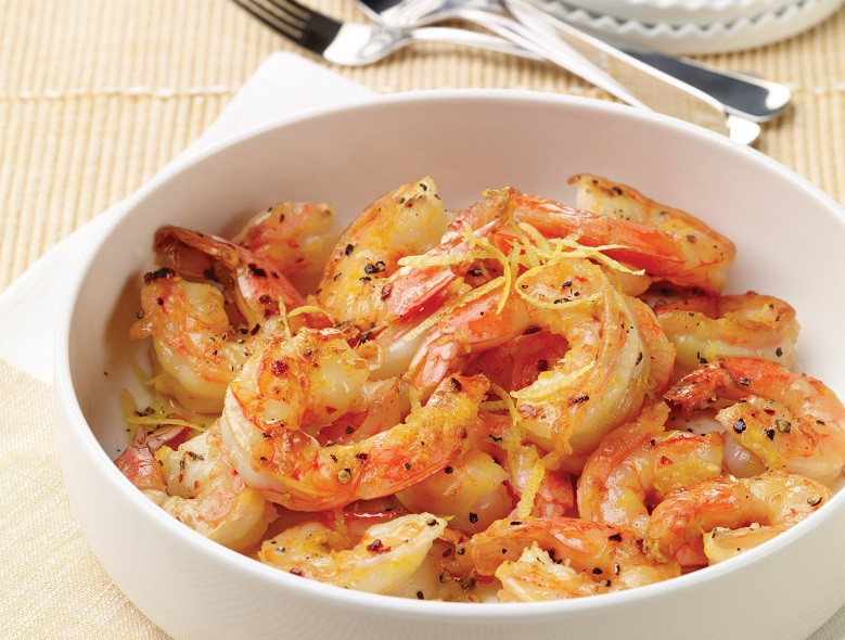 Lemon-scented Shrimp (Gamberi Al Limone)