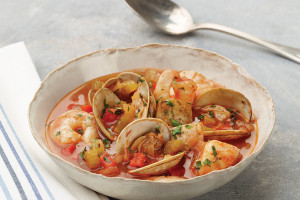 Smoky Seafood Stew
