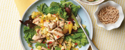 Swordfish Salad With Salsa Dressing