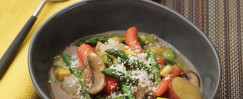 Vegetable Stew With Fresh Rosemary