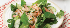 Venetian Shrimp With Garlic (Schie Aglio Olio)