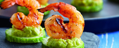 Devin Alexander's Shrimp Guac Apps