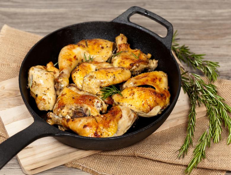 Braised Herbed Chicken