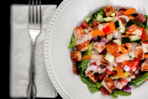 Budget-Friendly BBQ Chicken Salad