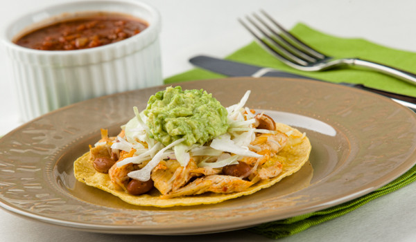 Budget-Friendly Chicken Tostadas