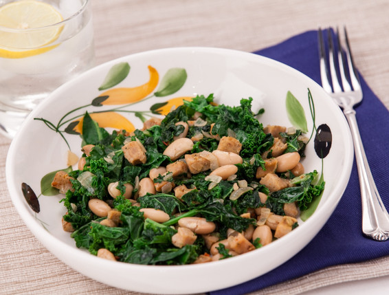 Budget-Friendly Kale and Sausage Sauté