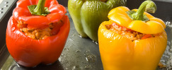 Budget-Friendly Stuffed Peppers