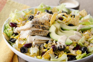 Chopped Black Bean Chicken Salad