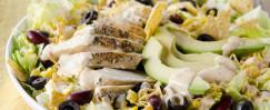 Chopped Black Bean Chicken Salad
