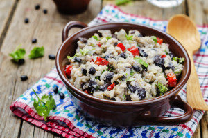 Congrí Light (Cuban Black Beans and Rice)