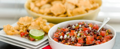 Fresh Black Bean Salsa