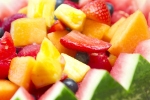 Fruit Salad with Honey Yogurt