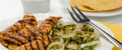 Grilled Lime Chicken Fajitas