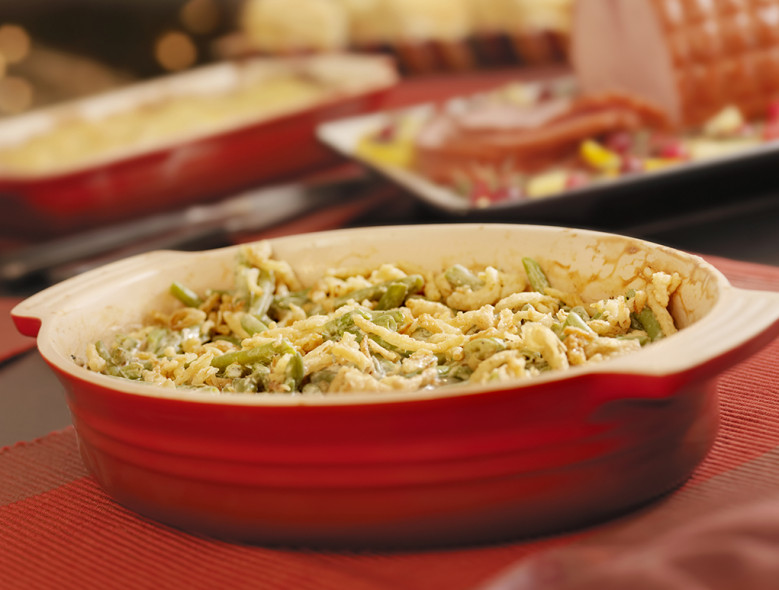 Healthy Homemade Green Bean Casserole