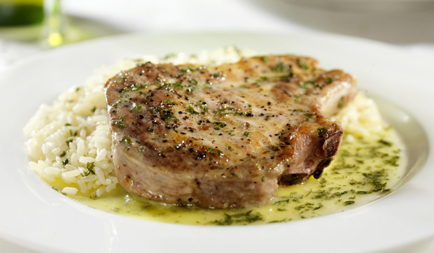 Herb-Crusted Pork Chops