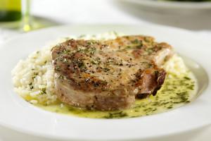 Herb-Crusted Pork Chops