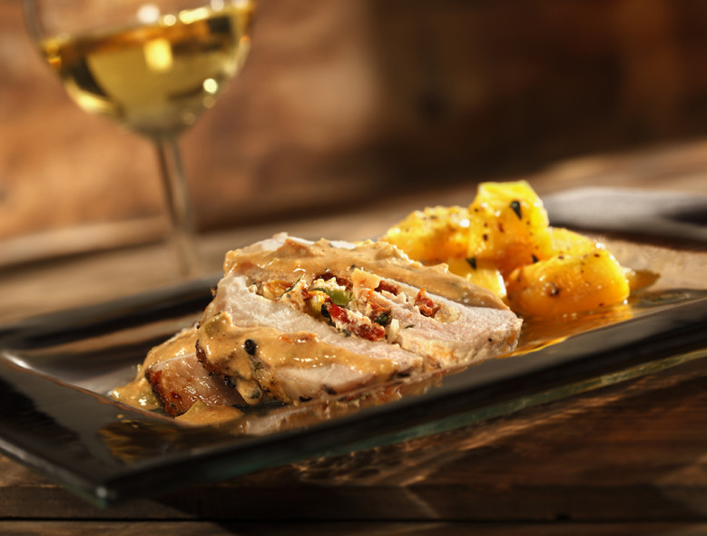 Italian Style Vegetable Stuffed Pork Tenderloin – Foodie Recipe