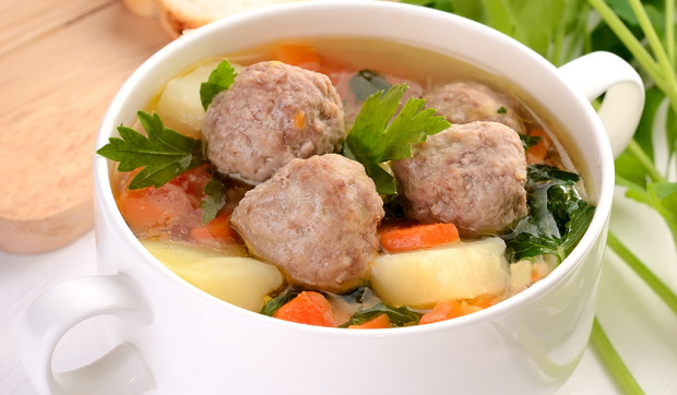 Meatball Minestrone