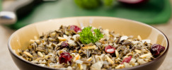 Wild Rice with Cranberries and Almonds