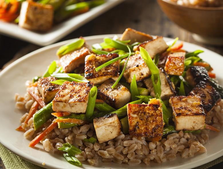 Asian Tofu Stir-Fry