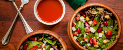 Salad Bar Gazpacho Salad