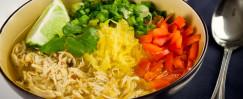 "Spaghetti Squash ""Ramen"" Noodle Bowl"