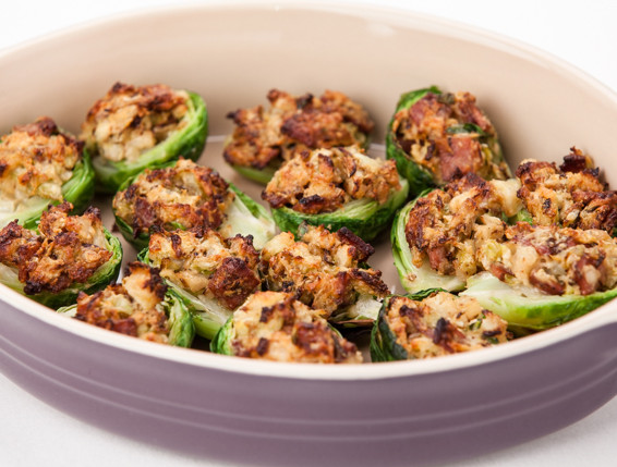 Stuffed Brussels Sprouts Bites – Foodie Recipe