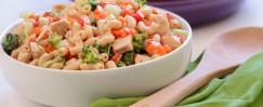 Veggie and Chicken Pasta Salad