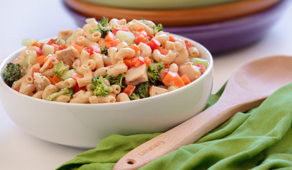Veggie and Chicken Pasta Salad