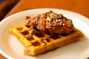 Whole Grain Chicken and Waffles