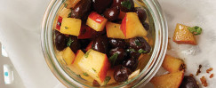 Black Bean and Peach Salsa