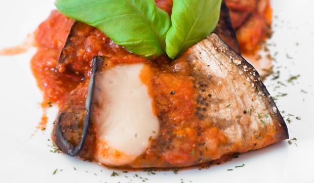 Eggplant Lasagna Roulades