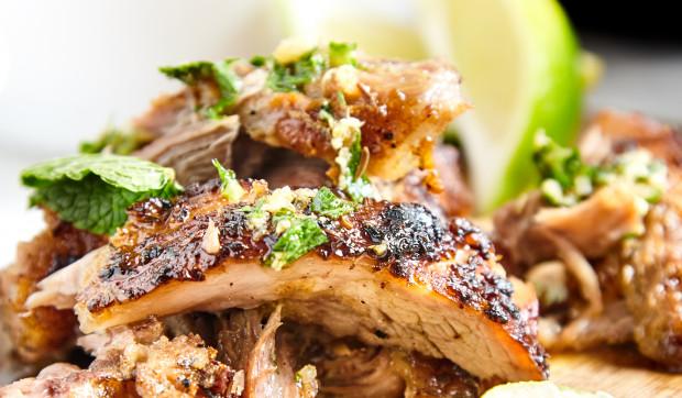 Spicy Pork Tenderloins With Chili And Black Vinegar