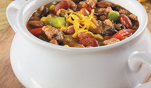 Turkey and 3-Bean Chili