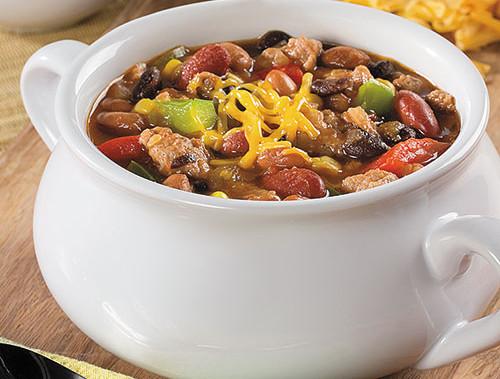 Turkey and 3-Bean Chili