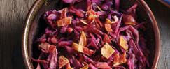 Apple Cider Honey Red Cabbage