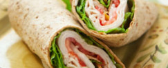 Turkey and Avocado Wrap