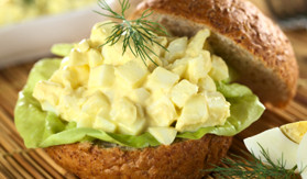 No Mayo Egg Salad