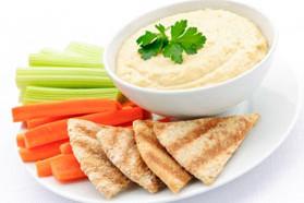 Curried Roasted Beet Hummus