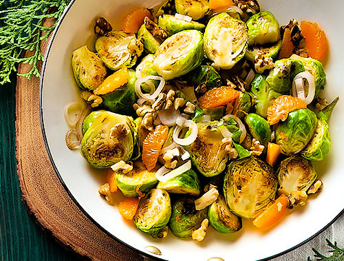 Brussels Sprouts With Oranges