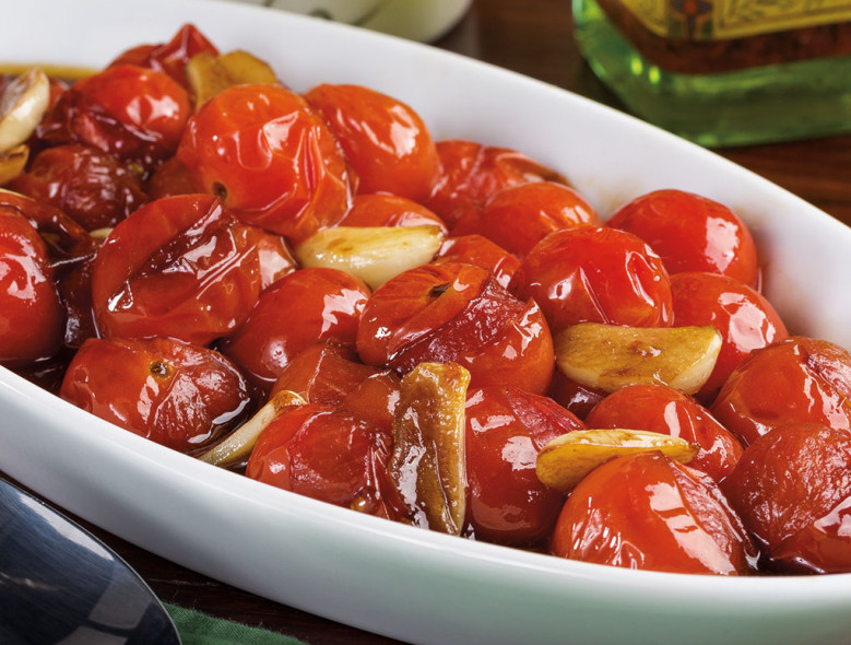 Italian-Style Blistered Tomatoes
