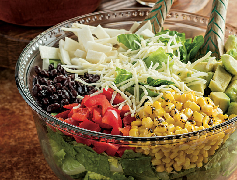 Chopped Mexican Salad with Lime