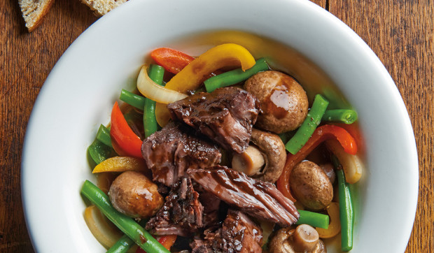Slow-Cooker Chuck and Veggies